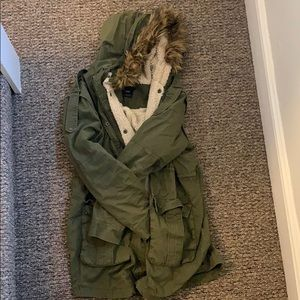 ASOS Maternity Lined Military style coat